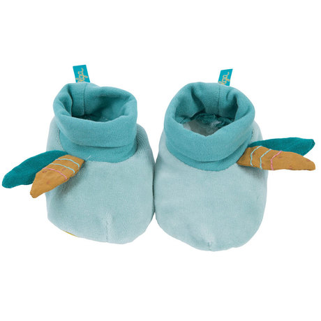 Chaussons bleus Le voyage d'Olga MOULIN ROTY