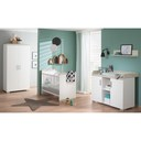 Chambre Metamorphose lit 60x120+commode+armoire BEBE9 CREATION