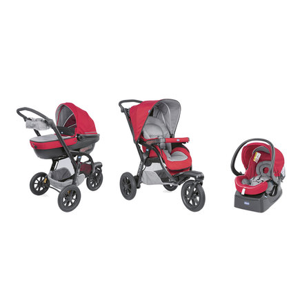 Poussette 3 roues Trio ACTIV3 TOP Red Berry CHICCO