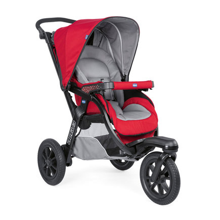 Poussette 3 roues Trio ACTIV3 TOP Red Berry CHICCO - 2