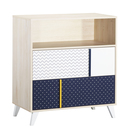 Chambre Duo Lit 70x140 Commode Hello SAUTHON - 3