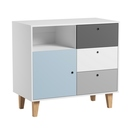 Porte additionnelle Bleue chambre Concept VOX - 4