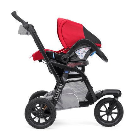 Poussette 3 roues Trio ACTIV3 TOP Red Berry CHICCO - 6