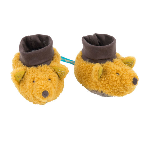 Chaussons renard Le voyage d'Olga MOULIN ROTY