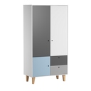 Porte additionnelle Bleue chambre Concept VOX - 6