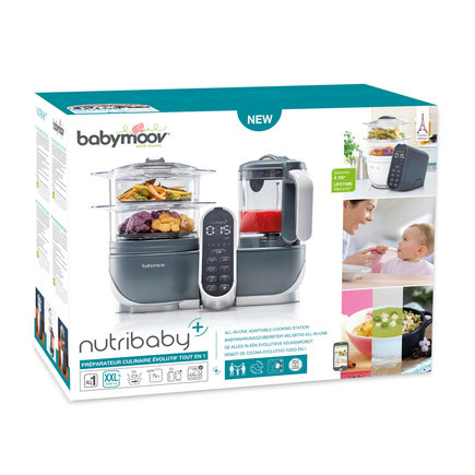 Nutribaby + industrial grey BABYMOOV - 3