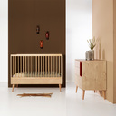 Chambre DUO Lit 60x120 Commode COCOON QUAX