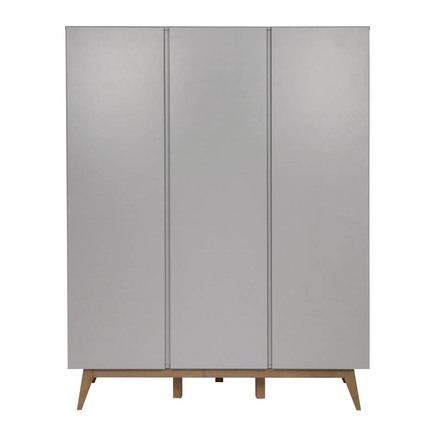 Armoire 3 portes TRENDY Griffin Grey QUAX