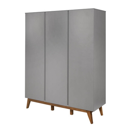 Armoire 3 portes TRENDY Griffin Grey QUAX - 3