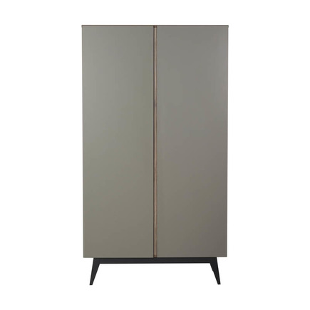 Chambre TRIO Lit 70x140 Commode Armoire TRENDY Royal Oak QUAX - 4