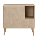 Chambre DUO Lit 60x120 Commode COCOON QUAX - 2