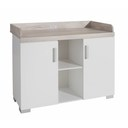 Chambre duo Lit Simply blanc+Commode Metamorphose BEBE9 CREATION - 3
