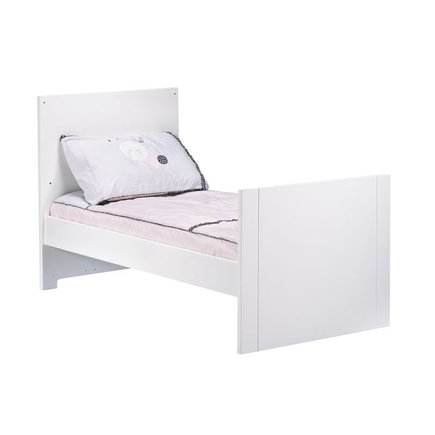 Chambre DUO Lit 70x140 Commode CITY  Blanc SAUTHON - 2
