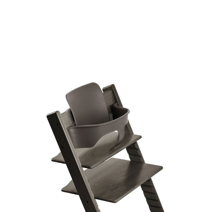 Chaise haute TRIPP TRAPP gris brume STOKKE - 3
