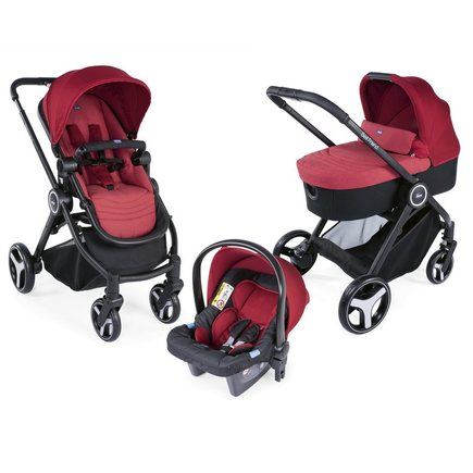 Poussette Trio Best Friend Light Red CHICCO - 3
