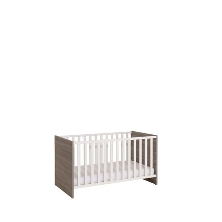 Chambre TRIO Lit 70 Commode Armoire HAUKE Bicolore Pans offert BEBE9 CREATION - 6