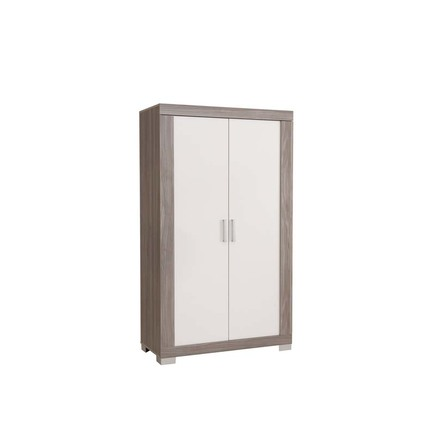 Chambre TRIO Lit 70 Commode Armoire HAUKE Bicolore Pans offert BEBE9 CREATION - 8