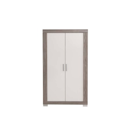 Chambre TRIO Lit 70 Commode Armoire HAUKE Bicolore Pans offert BEBE9 CREATION - 10