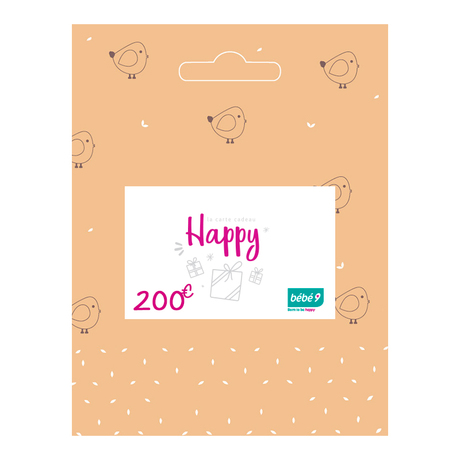 Carte cadeau 200 € BEBE9 CREATION