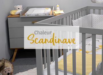 Déco scandinave chambre bebe